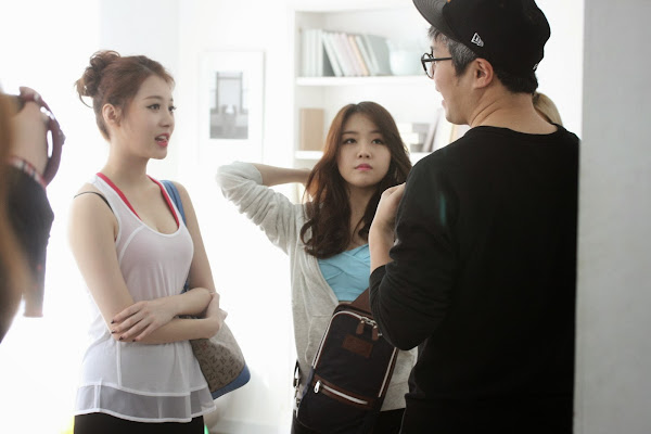 Girls Day Yura Hazzys Backstage
