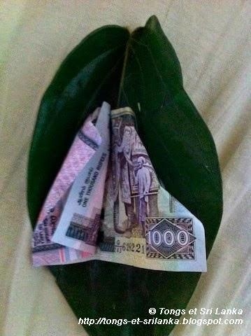 Pourboire au Sri Lanka