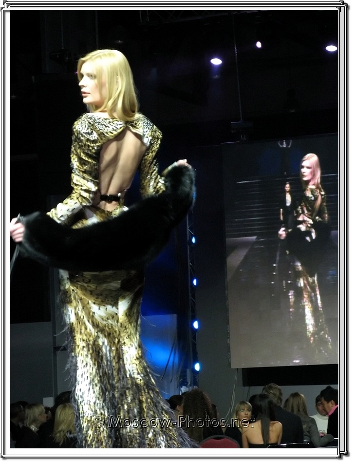 Fausto Sarli Collection. Moscow Fashion Expo - 2007.