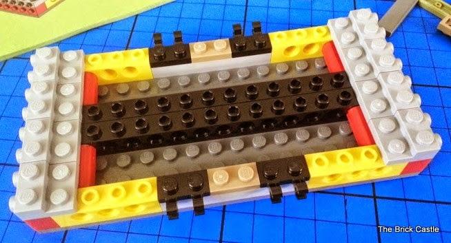LEGO TMNT Turtle Van Takedown Set 79115 Review base of vehicle