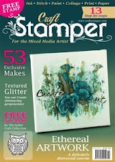 Front Cover of Craft Stamper October 2015
