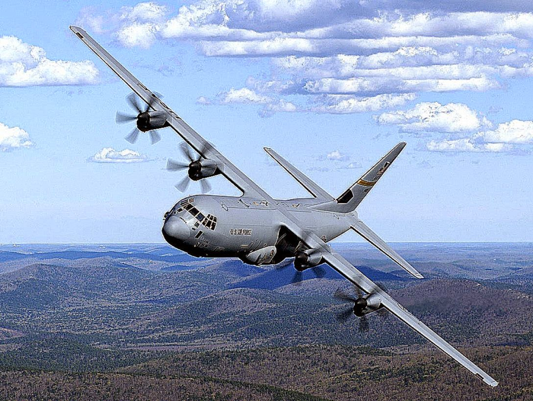 The Lockheed Martin C130 Hercules was first flown in 1954 Currently is the Wests most popular and widely used military transport aircraft It is in service with