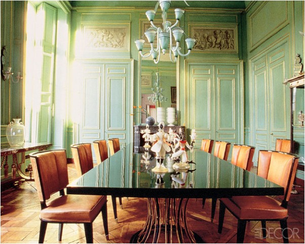 Outstanding French Country Dining Room Green 602 x 482 · 804 kB · png