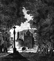 lámina del monaserio de Veruela