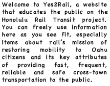 Your Rail Talking Point Site