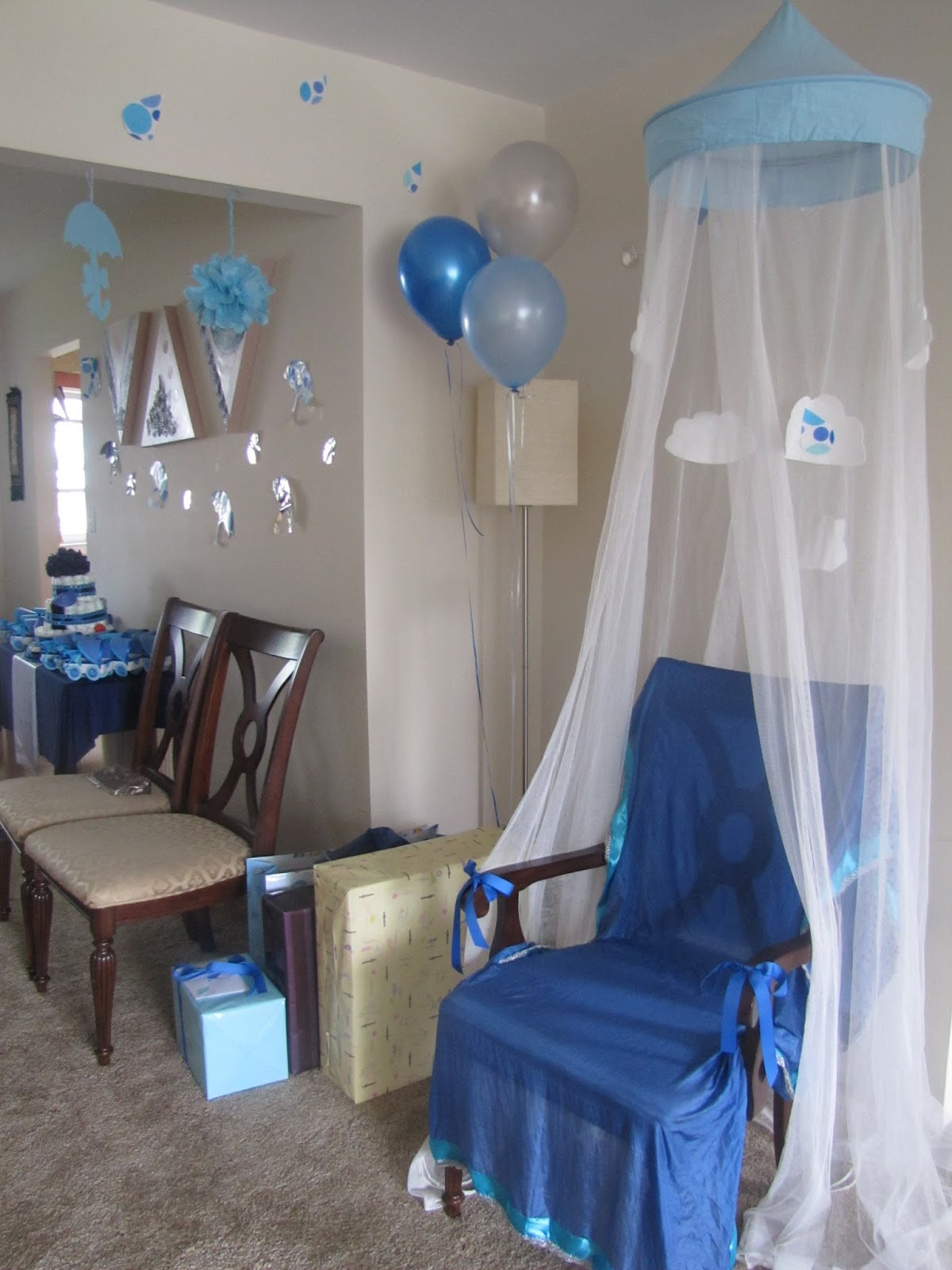 Mommy Party Planning April Showers Baby Shower