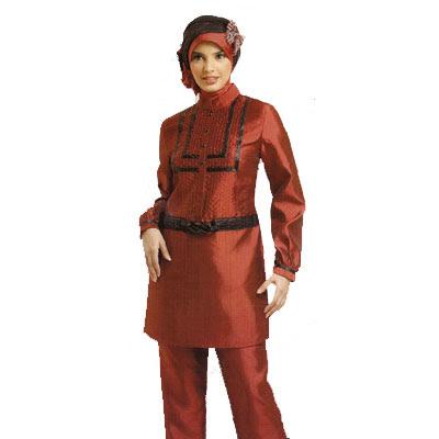 Trend Baju Muslim Terbaru 2011 Busana Desain Modern Wan
