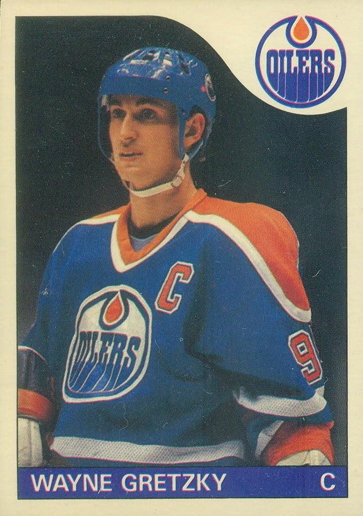 wayne gretzky edmonton oilers 1985-86 o-pee-chee hockey card