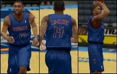 NBA 2K13 Charlotte Bobcats Christmas Jersey