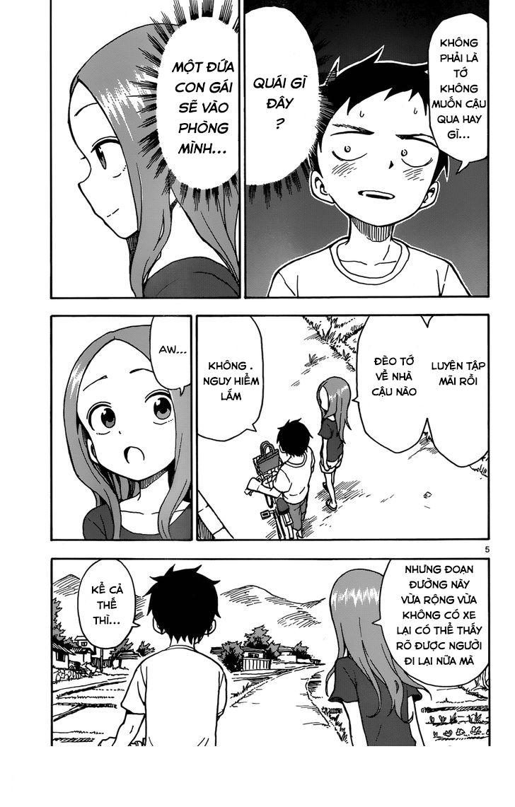 Karakai Jouzu no Takagi-san chap 28 Trang 5 - Mangak.info