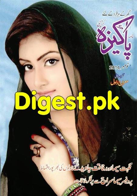 Pakeeza Digest November 2014