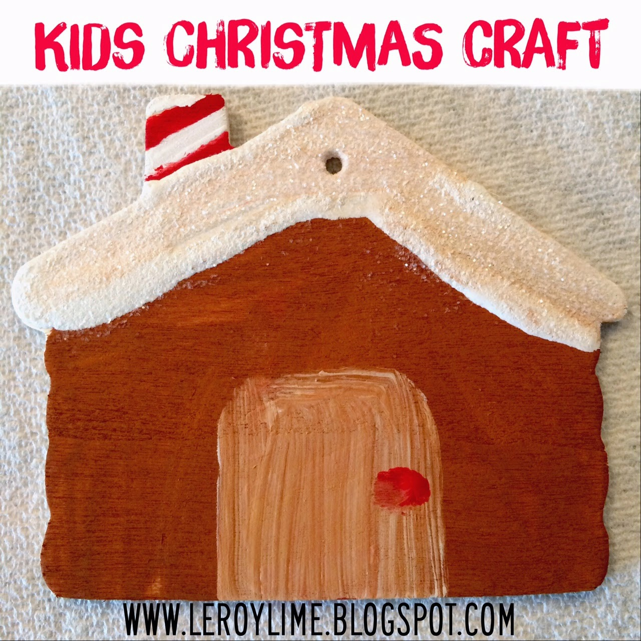 Kids Christmas Ornament Craft - LeroyLime