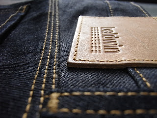 baldwin denim The Henley 14oz KURABO