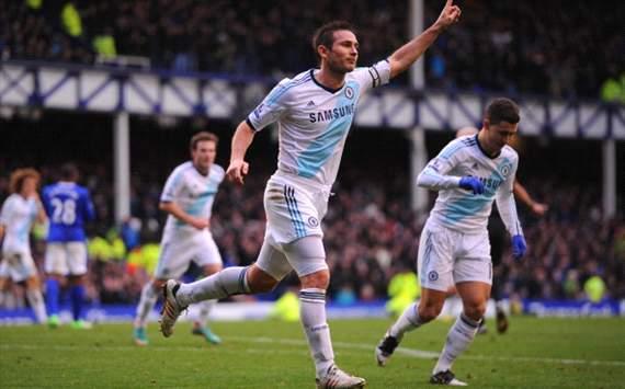 Hasil Pertandingan Everton VS Chelsea 30 Desember 2012