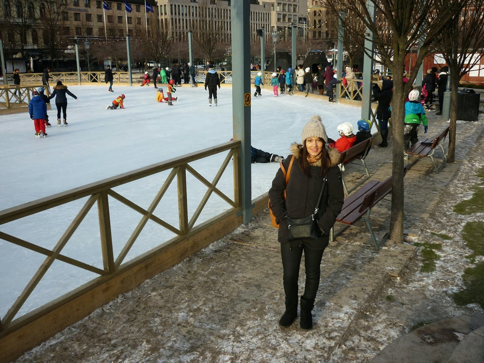 Globeshoppeuse week end stockholm for Patinoir exterieur
