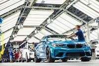 Productia de serie a modelului BMW M2 Coupe a inceput la uzina din Leipzig