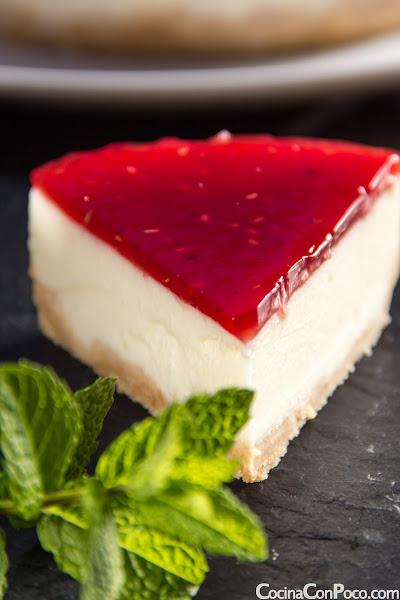 Tarta de queso philadelphia y cuajada. Receta Facil