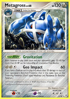 Metagross Pokemon Card Supreme Victors set