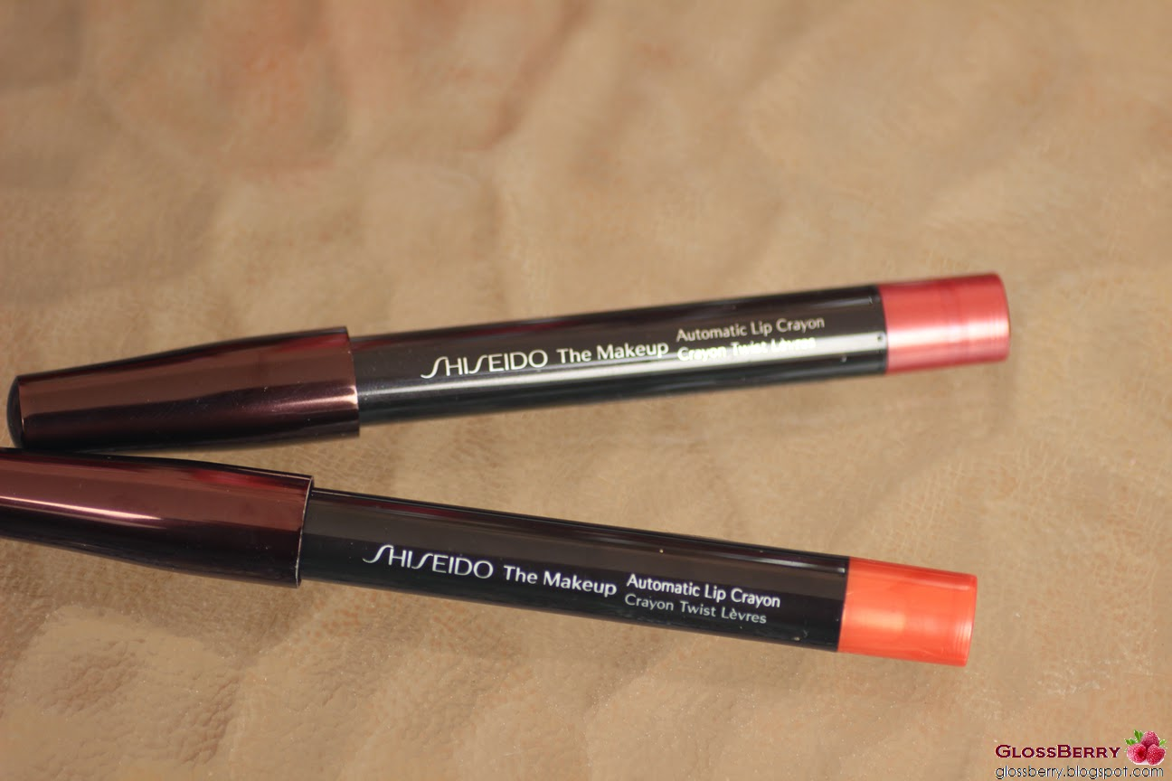 shiseido automatic lip crayon lc4 lc5 שיסיידו שפתון