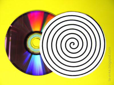 оптические иллюзии - вращающиеся круги