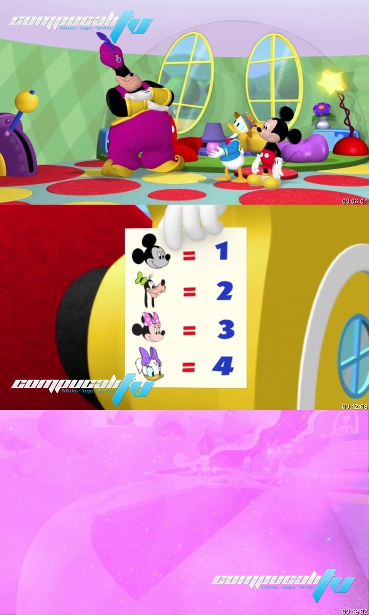 Mickey Clubhouse: The quest for the Crystal DVDRip Español Latino