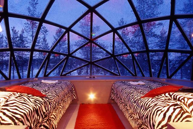 Karslauttanen hotel iglu neve
