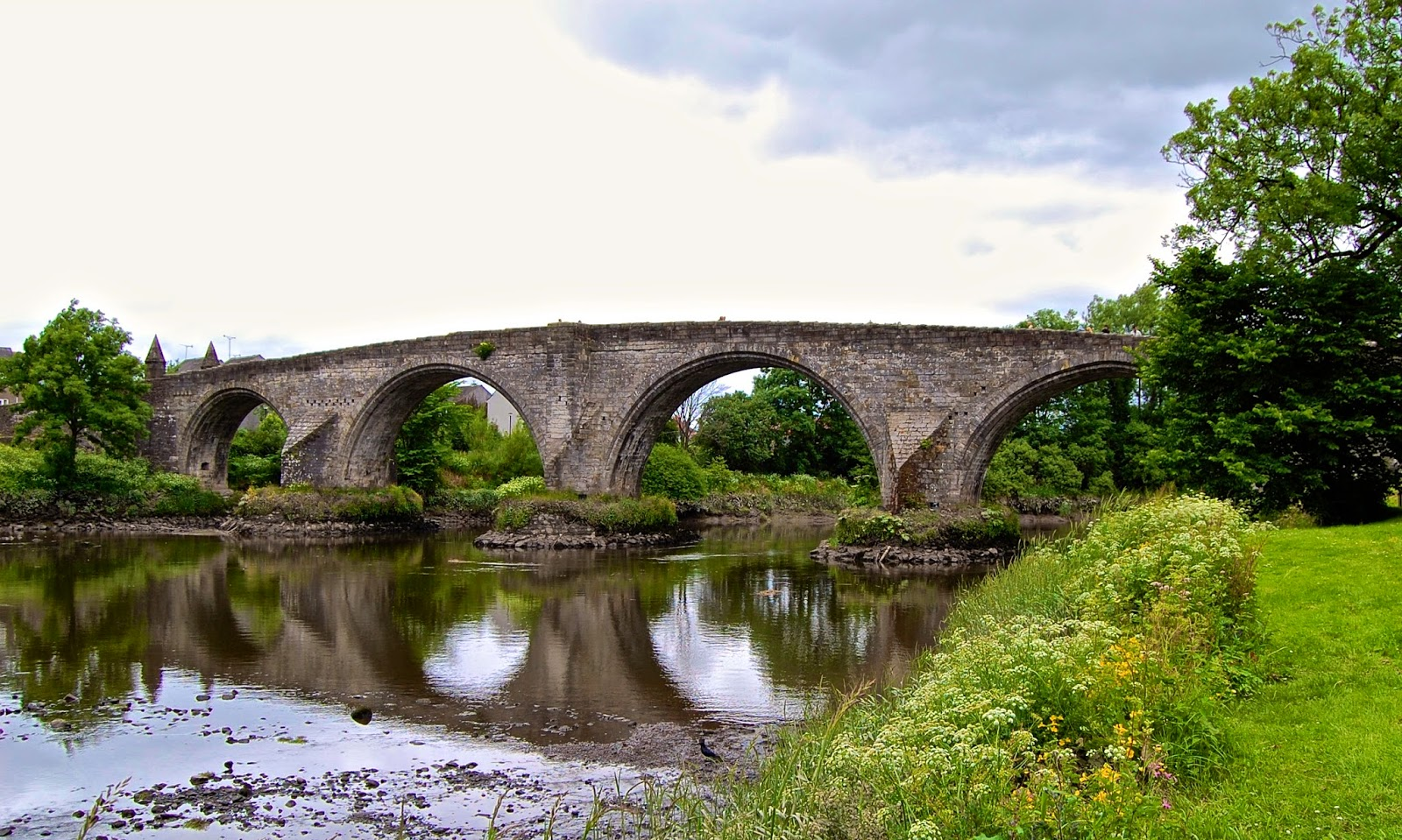 Old Stirling Bridge in Scotland