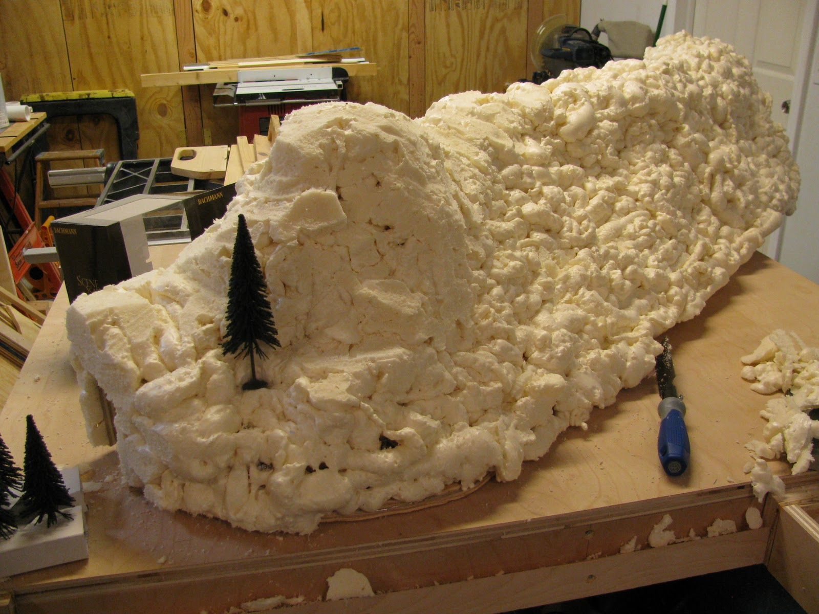 Sanity with five kids: shaping mountains