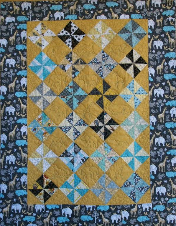 Cheryl Vastola's Pinwheel Quilt