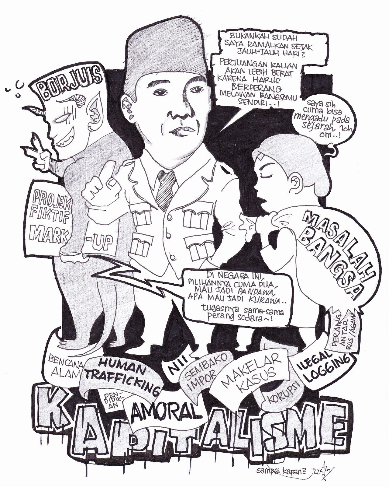 Harta Karun Bung Karno Kumpulan Karikatur Dalam Buku HKBK