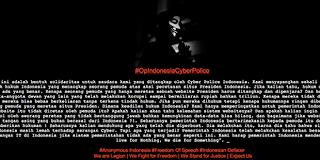 Pernyataan Solidaritas untuk Peretas Situs SBY
