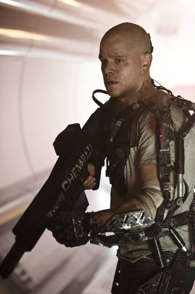 elysium movie starring matt damon teaser trailer. Black Bedroom Furniture Sets. Home Design Ideas