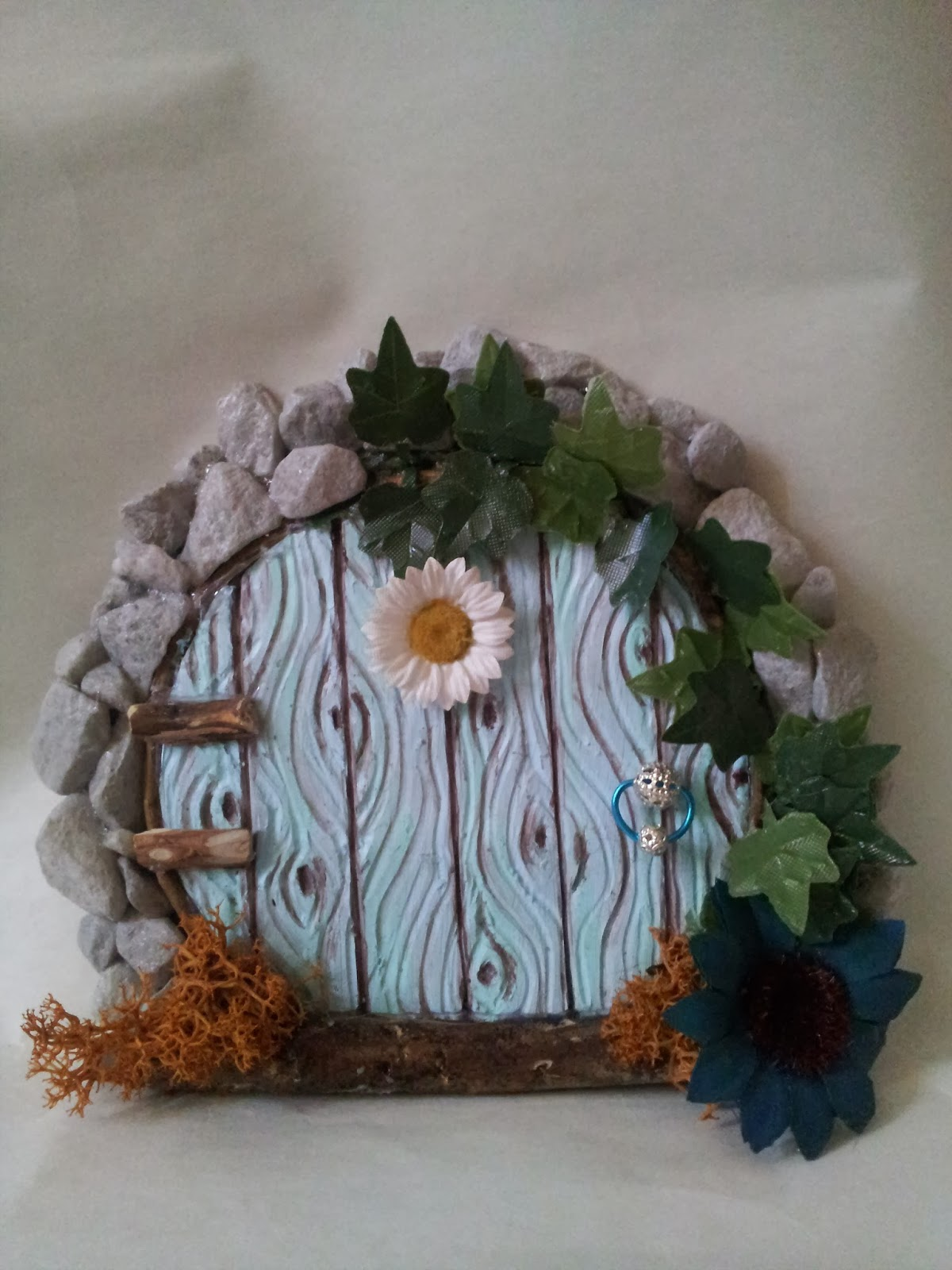 ooak door fairy fairies door polimer clay