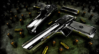 Deagle Power Bullets Guns HD Wallpaper