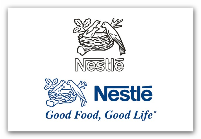 Nestle Good Food Good Life Vector