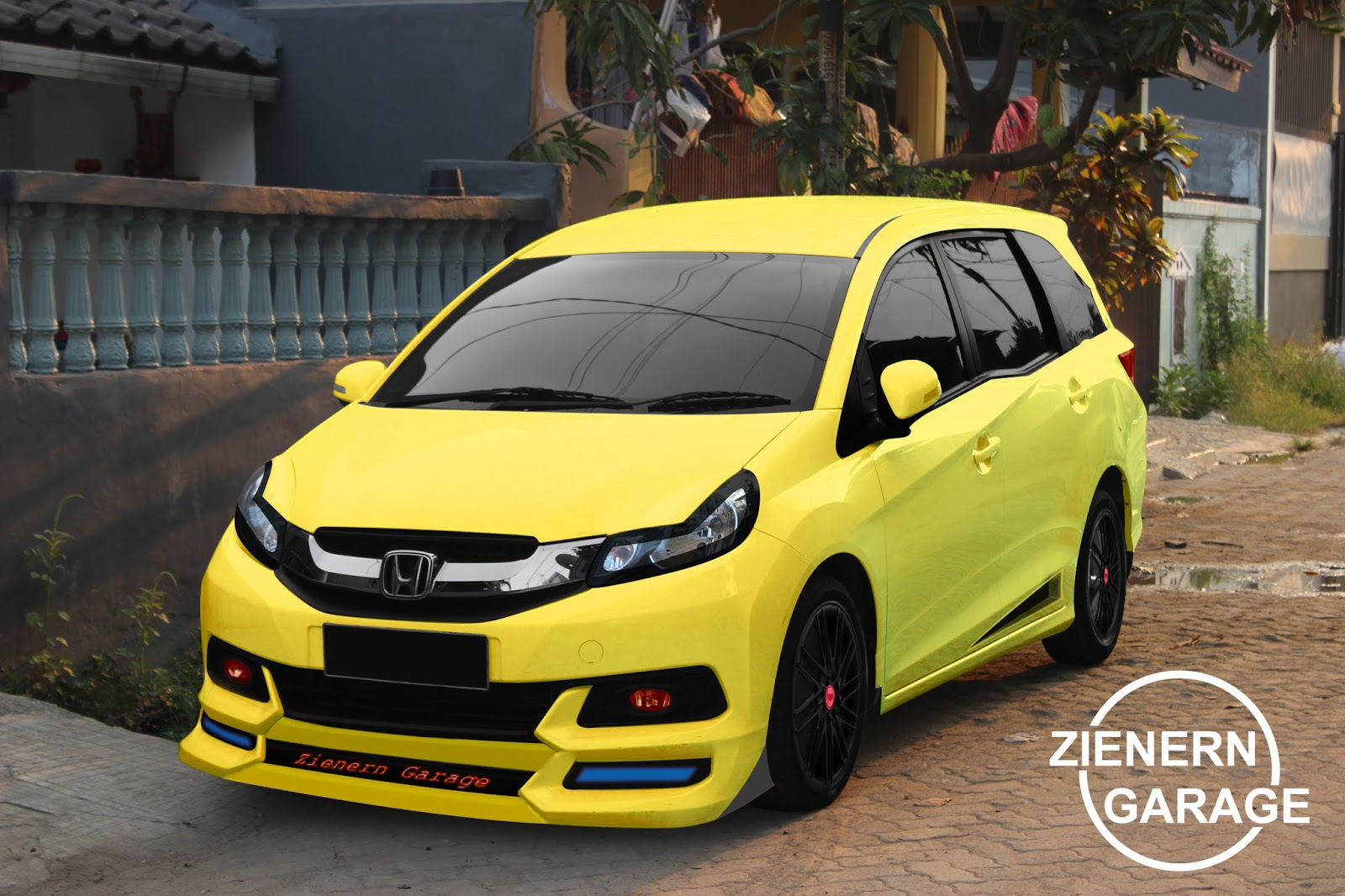 Modifikasi Honda Mobilio 2014 Zienern Corp