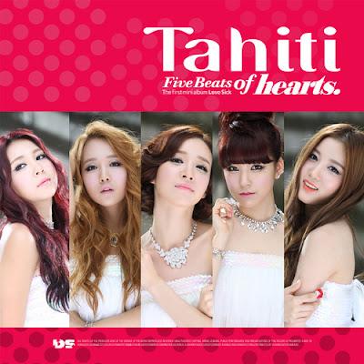 TAHITI Five Beats Of Hearts Concept Photo
