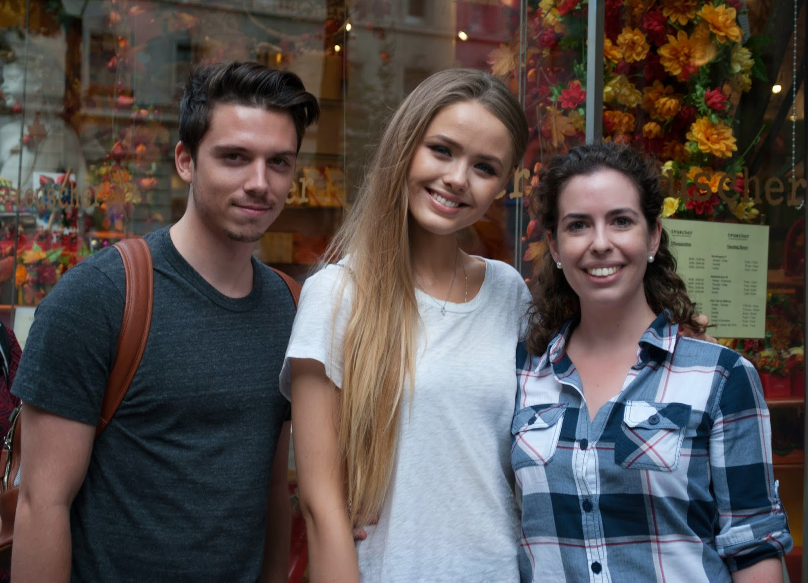 Meeting Kristina Bazan