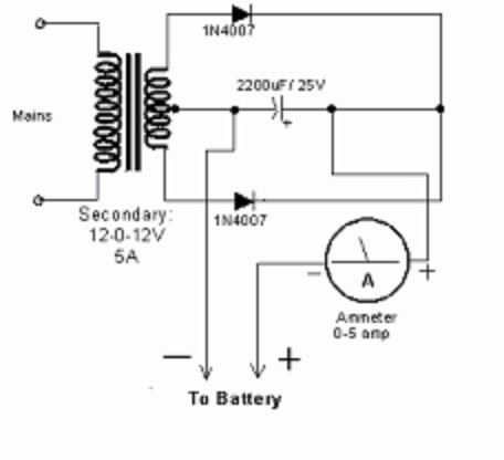 the silicon graybeard the least you should know electronics 2 rh thesilicongraybeard blogspot com Battery Charger Circuit Diagram Battery Charger Schematic Diagram
