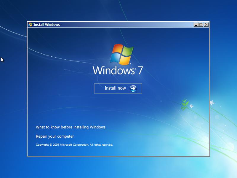 Cara Install Windows 7 (Lengkap Dengan Gambar) 2