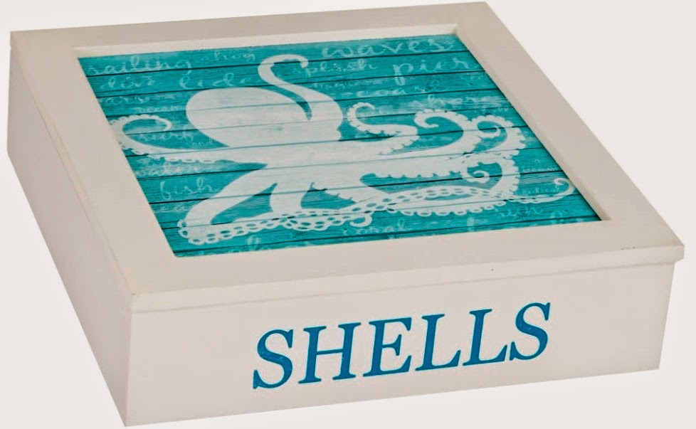 octopus shell box
