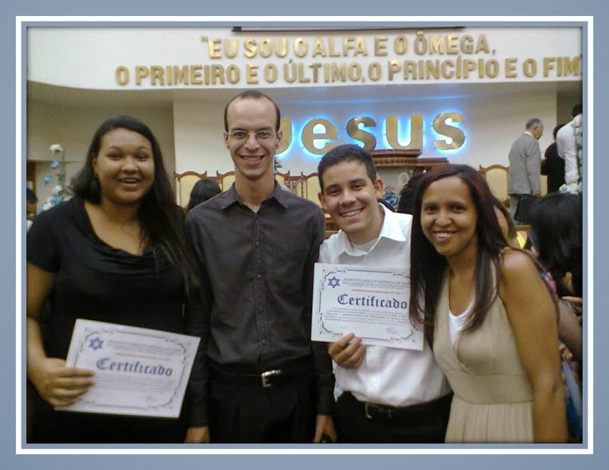 MEUS ALUNOS: DANIELLE, PEDRO, LUIZ AFONSO E DUCINETE