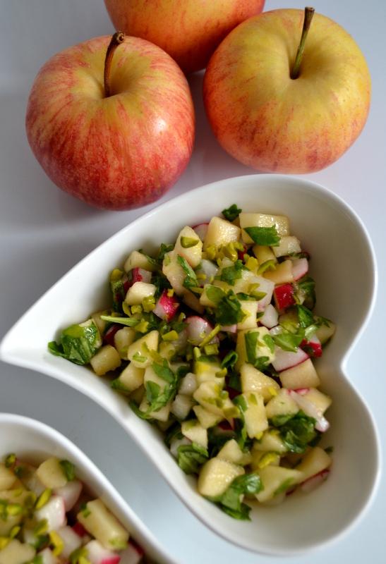 Любимый весенний салат с рукколой