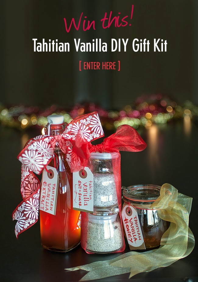 Win Tahitian Vanilla DIY Gift Kit