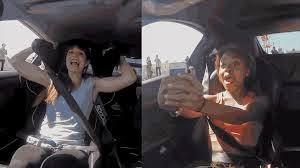 Four Girls rides shotgun on drag racing supercars!