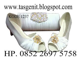 tas pesta, sepatu pesta, sepatu wedding pernikahan