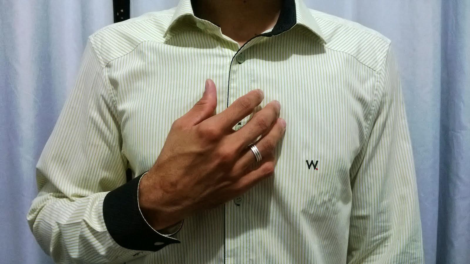 W.Santos REF.201302701 MASC. CLÁSSICO (M/Nº.2) R$ 139,90 (Á VISTA 5% OU 3X NO CARTÃO)