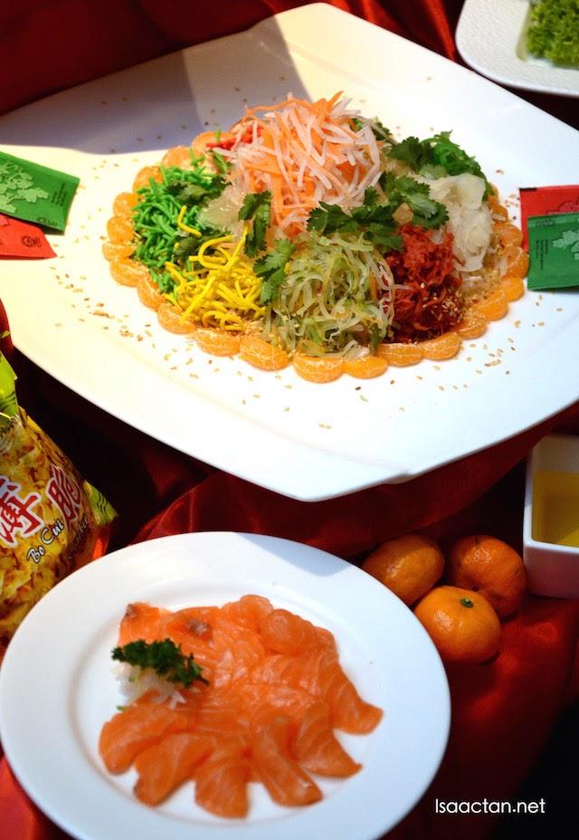 Salmon Yee Sang - RM65+ per portion