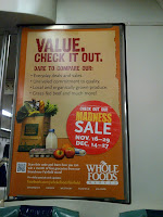 Misspelled ad for Whole Foods