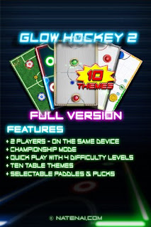Glow Hockey 2 v1.0.0 apk Full Free Download